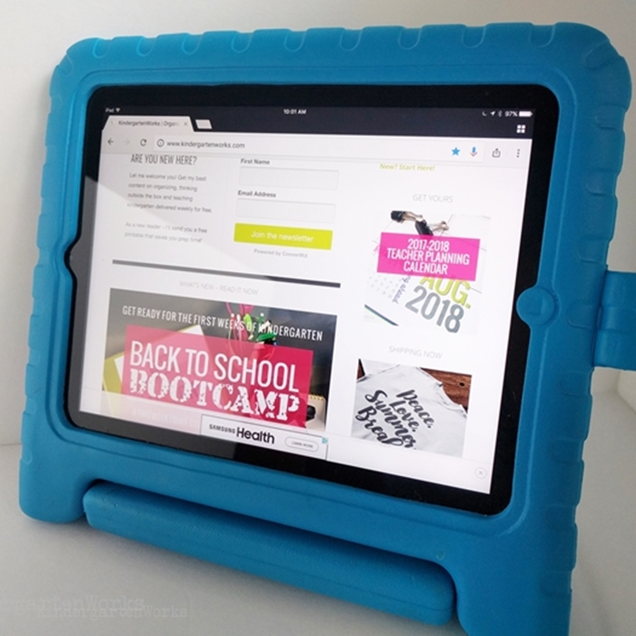 Best iPad Case for Kindergarten