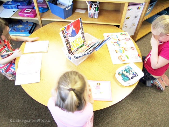 Kindergarten Non Fiction Literacy Center Activity human -body books