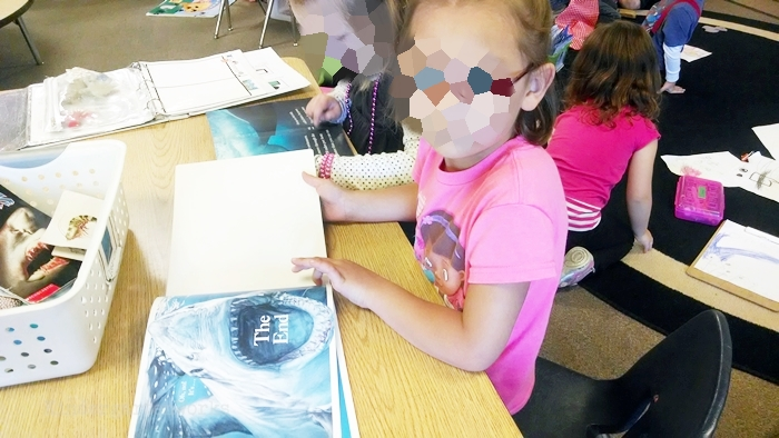 Kindergarten Non Fiction Literacy Center Activity -ocean life books