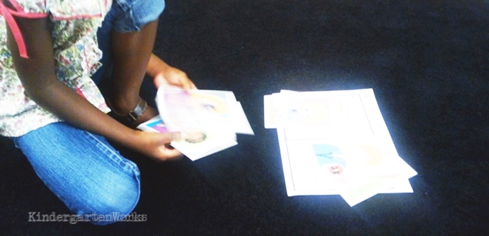 Kindergarten Non Fiction Literacy Center Activity - sorting occupations
