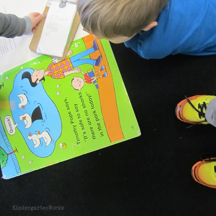 Literacy Centers Kindergarten - Big Book Center