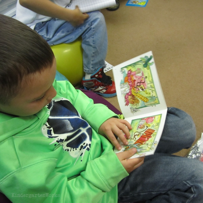 Literacy Centers Kindergarten - Library Reading Center