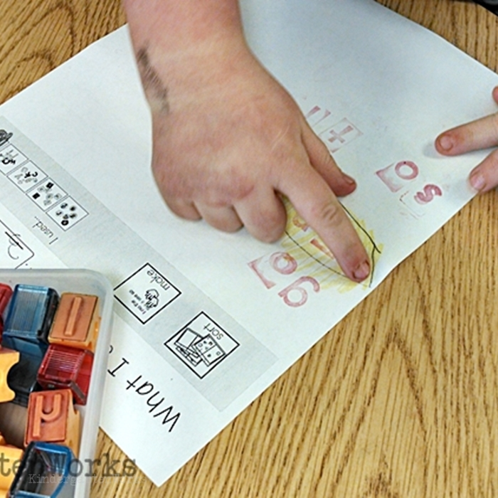 Literacy Centers Kindergarten - ABC Sight Word Center