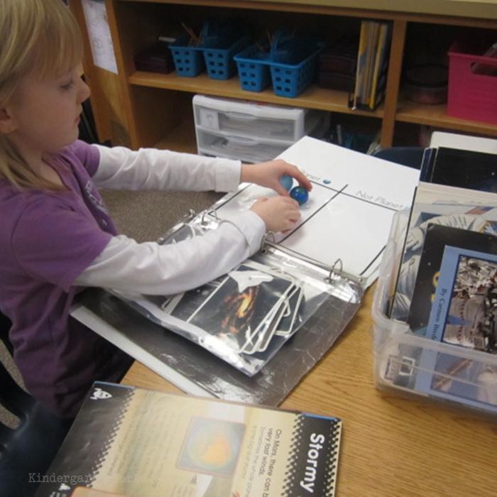 Literacy Centers Kindergarten - Non-Fiction Reading Center