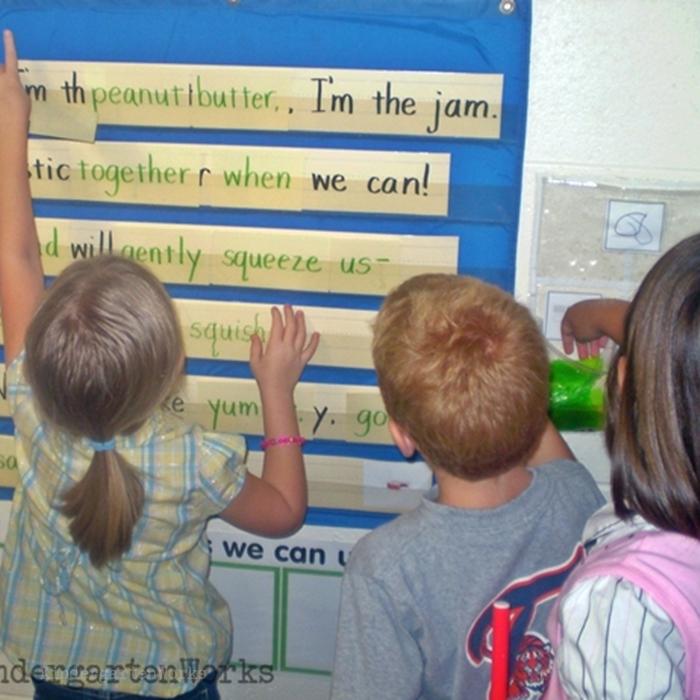Literacy Centers Kindergarten - Poetry Reading Center