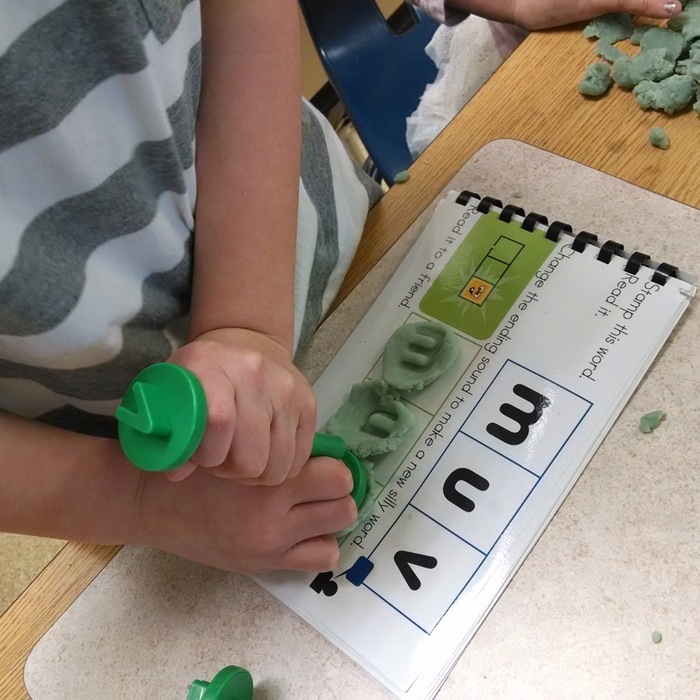 Literacy Centers Kindergarten - Word Work Playdough Center