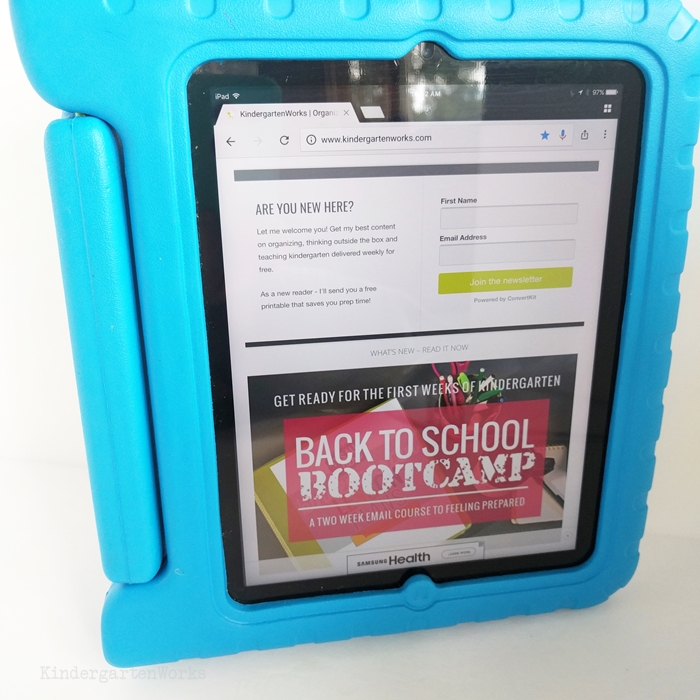 Which iPad Case is Best for Kindergartners in the classroom