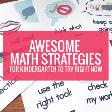 Awesome Math Strategies for Kindergarten