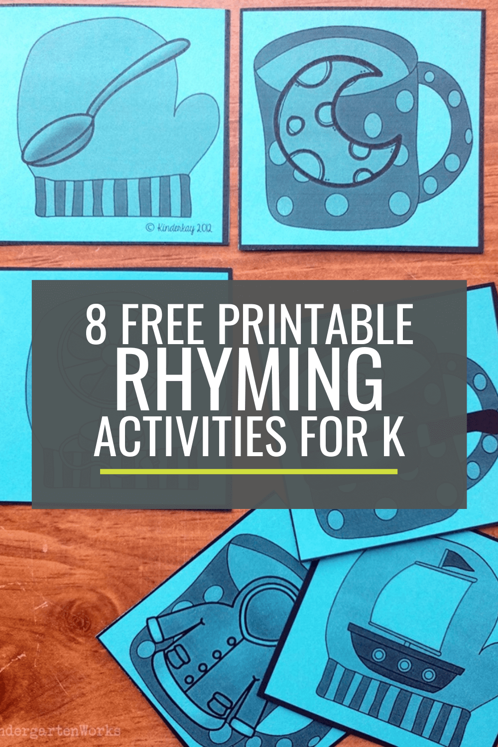 8 Free Rhyming Activities for Kindergarten