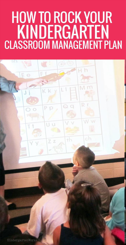 Kindergarten Classroom Management Plan - How to Get started