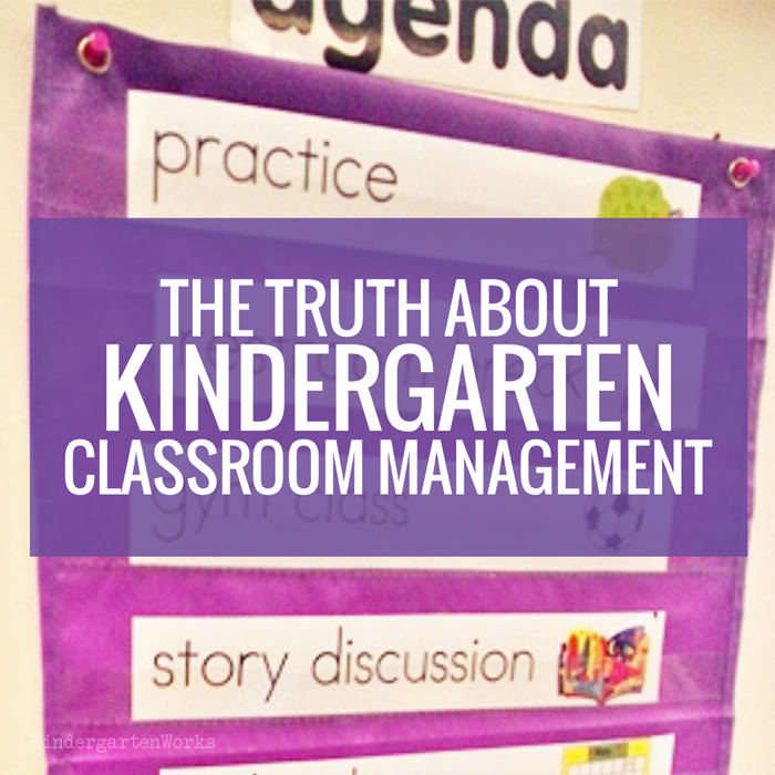 The Truth About Kindergarten Classroom Management - classroom management for normal teachers