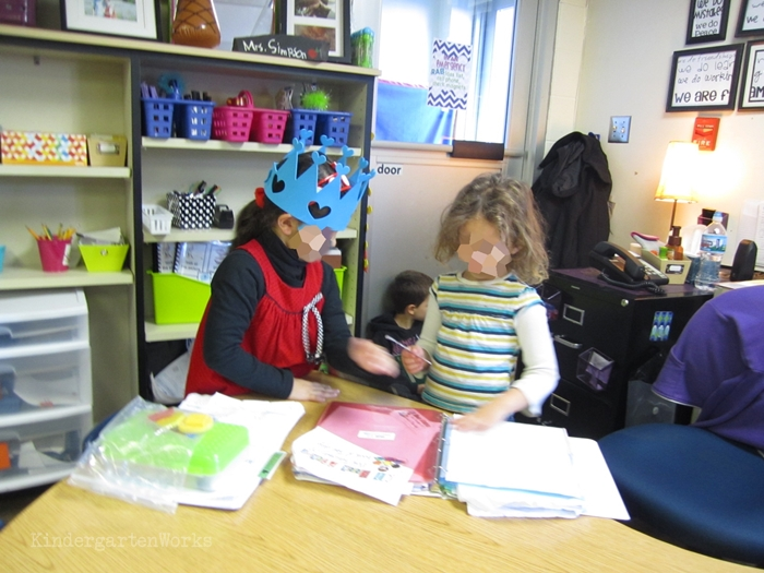 The Truth About Kindergarten Classroom Management - hand over responsibility
