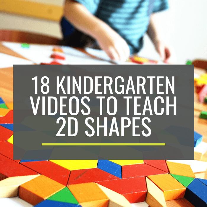 27 Creative Ways to Teach 2D Shapes – KindergartenWorks