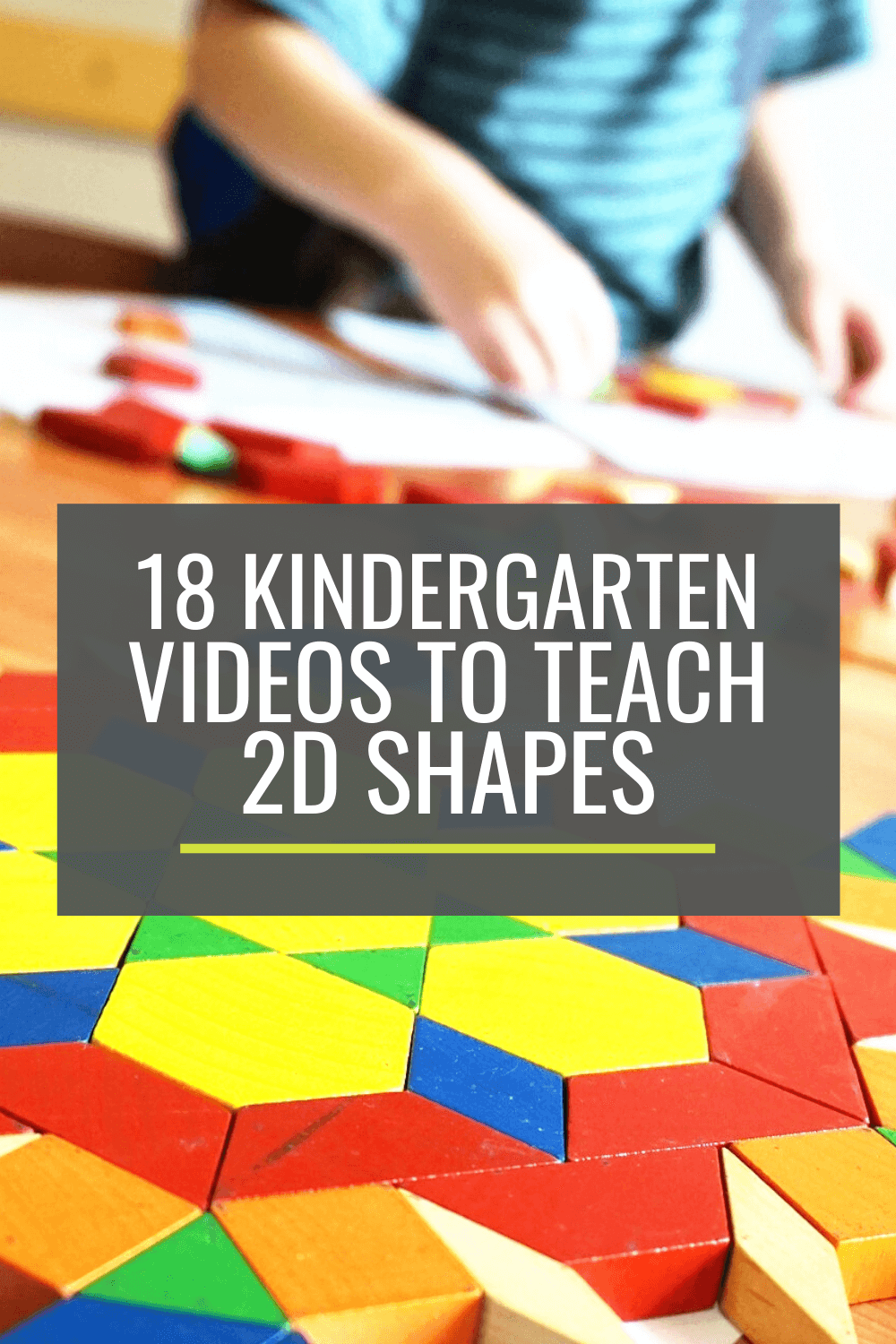 18 Kindergarten Videos to Teach 2D Shapes
