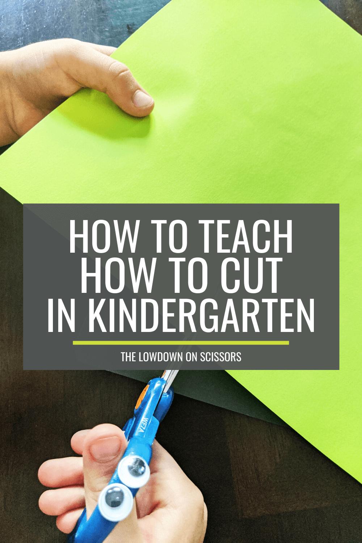 Teach How to Cut: The Lowdown on Scissors