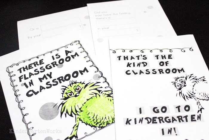 Free There's a Wocket in My Pocket Dr. Seuss-Inspired Class Book