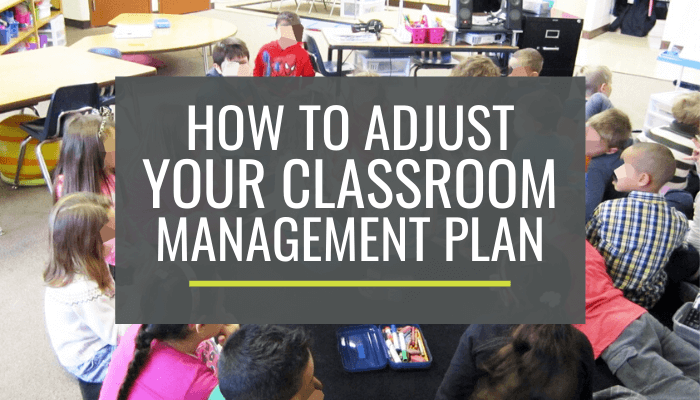 How to Improve Your Classroom Management Plan