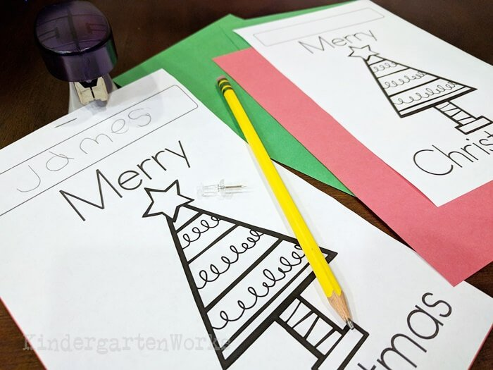 Easy to use free Christmas Pokey Pinning Activity for Sight Words