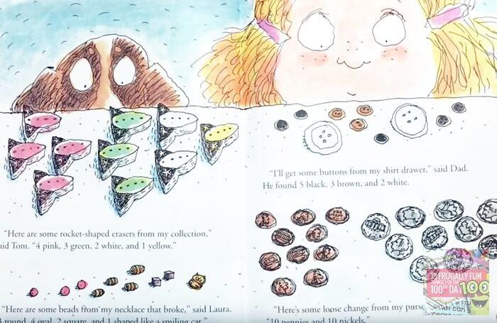 100th Day Worries Book for Kindergarten
