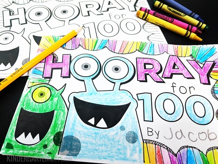 100th Day of School Writing Booklet