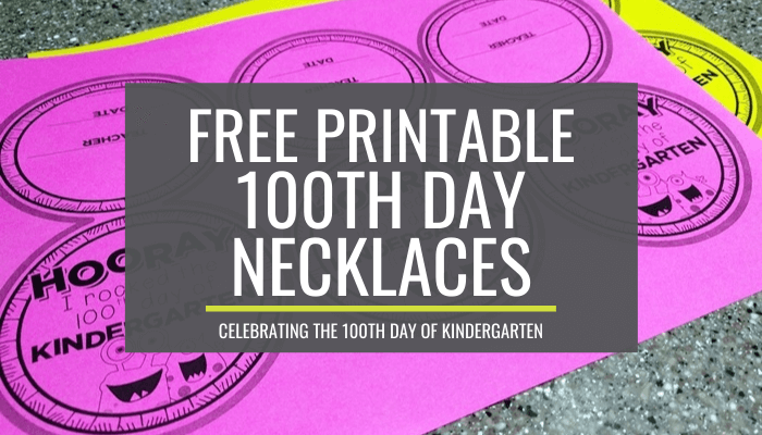 100th day necklaces