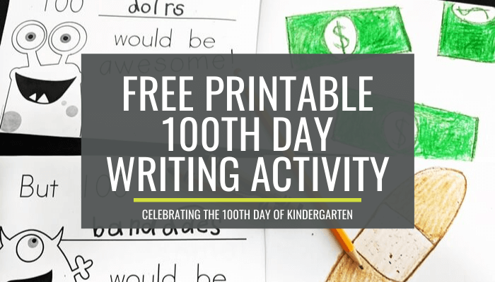 100th day writing books