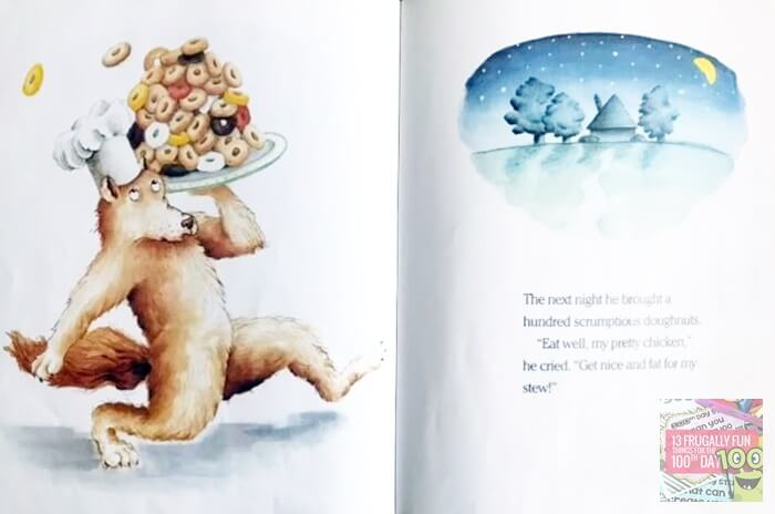 Wolfs Chicken Stew Book for 100th Day