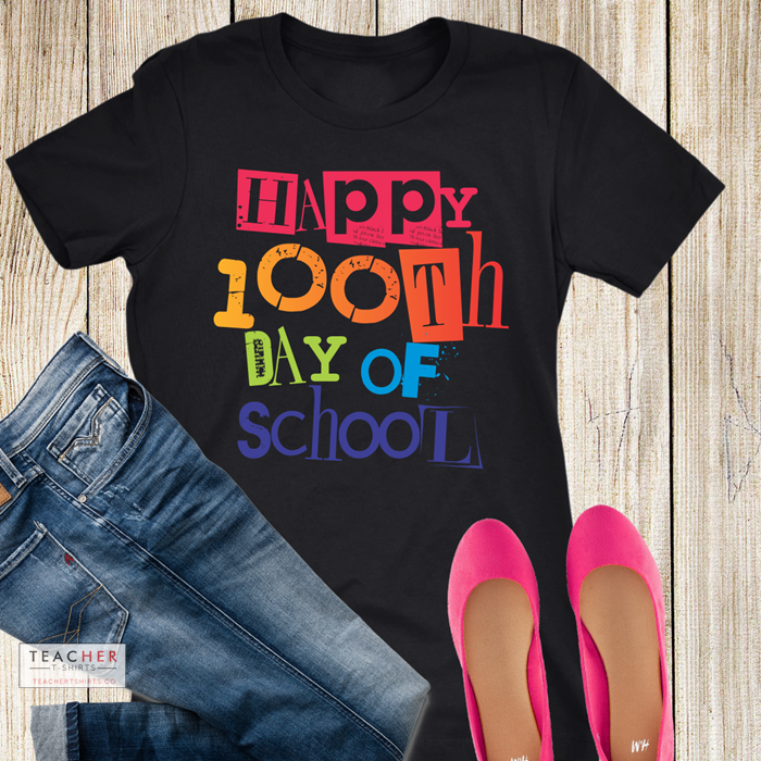 cute 100th day of school teacher shirts