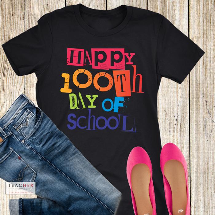 cute 100th day of school teacher shirts