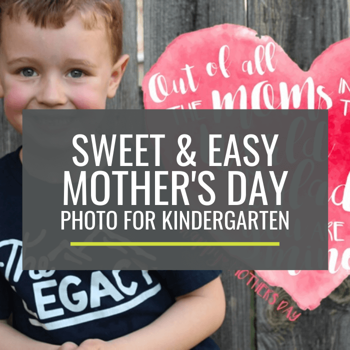 Free - Sweet Mother's Day Photo Overlays for Kindergarten