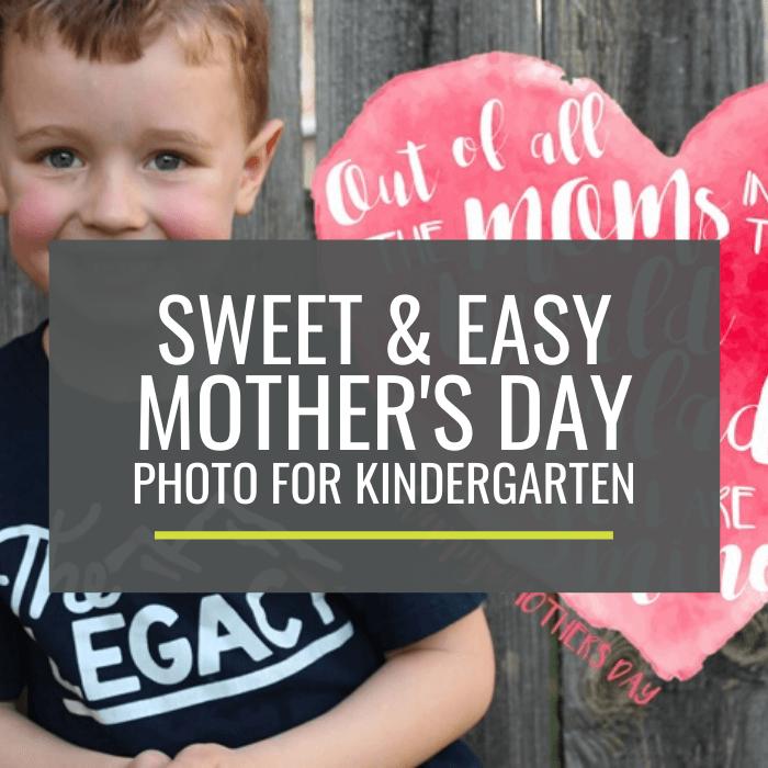 Free - Sweet Mother's Day Photo Overlays for Kindergarten