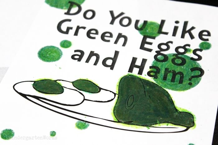 Green Eggs and Ham Class Book cover