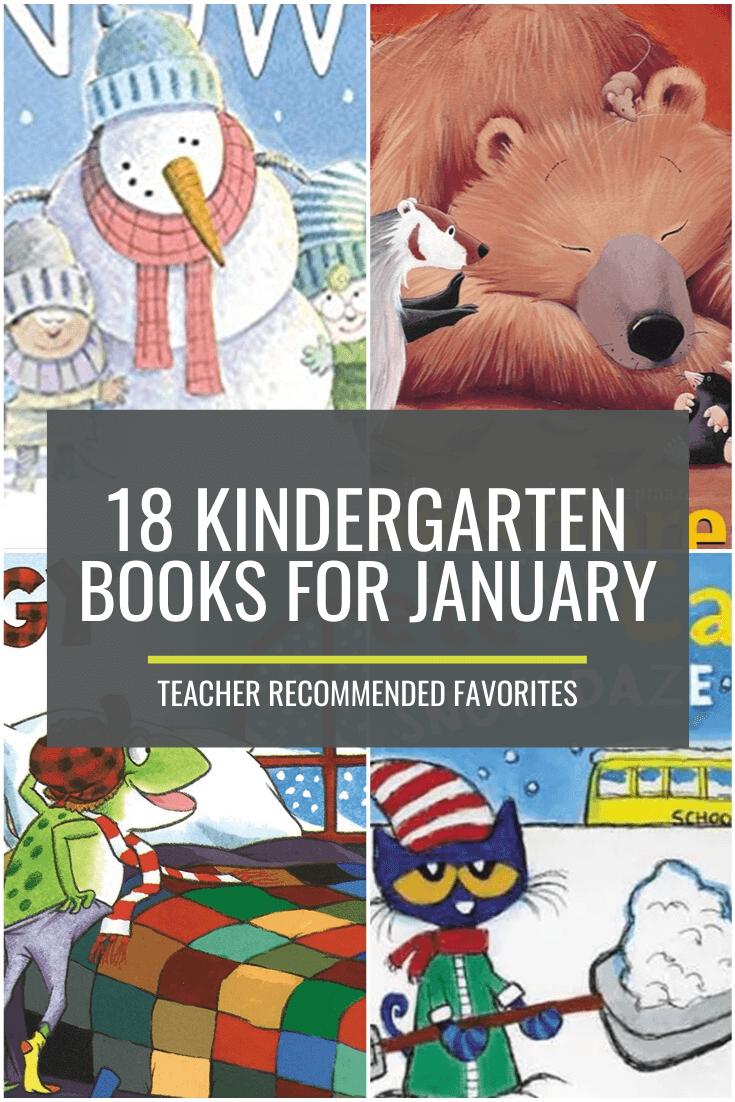 18 Kindergarten Books for January – Teacher Favorites