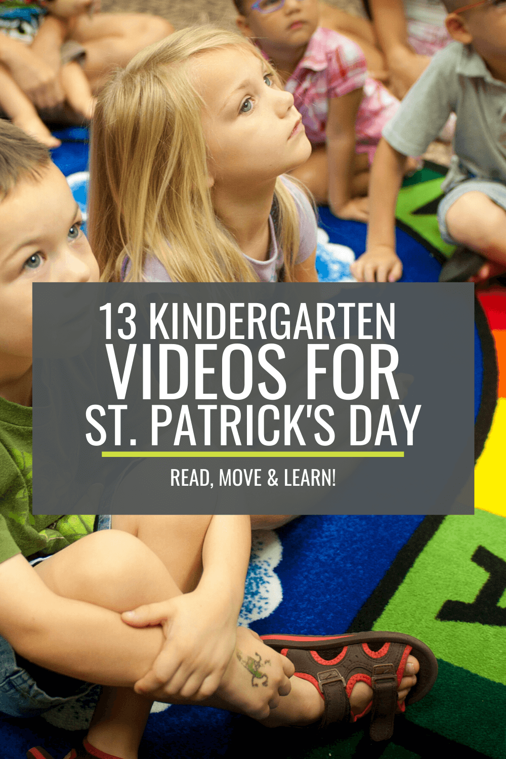 13 Kindergarten Videos for St. Patrick's  Day – Read, Move and Learn!