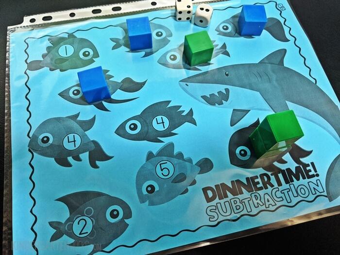 Free Ocean Subtraction Within 5 Game for Kindergarten