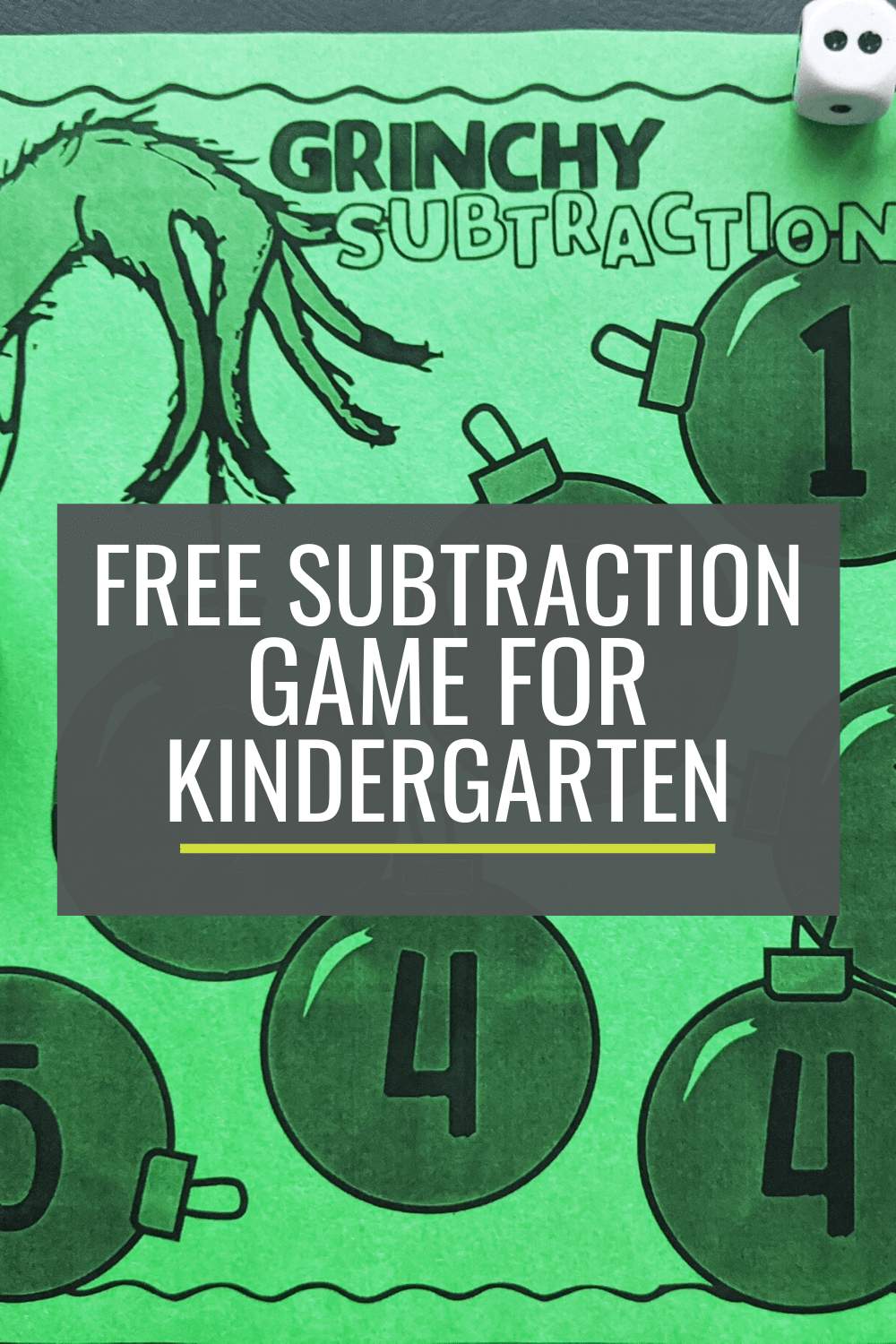 Free Grinchy Subtraction Bump Game