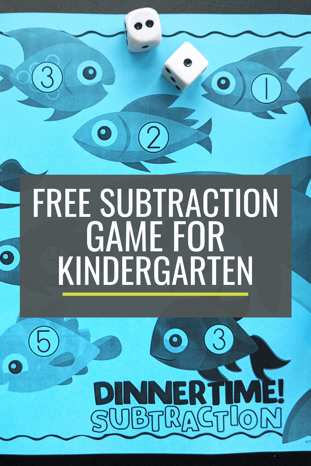 Free Dinnertime! Subtraction Bump Game