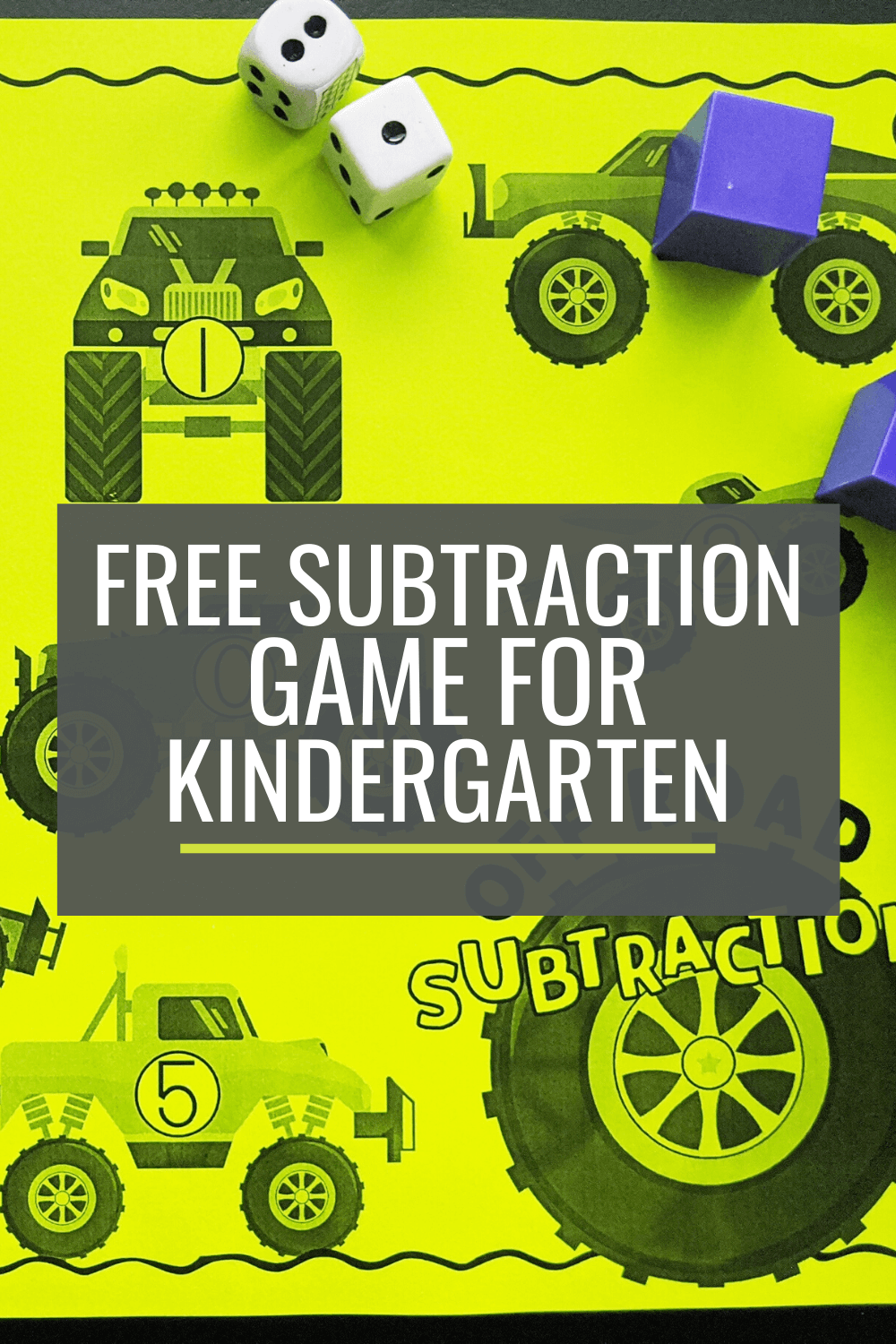 Free Off-Road Subtraction Bump Game