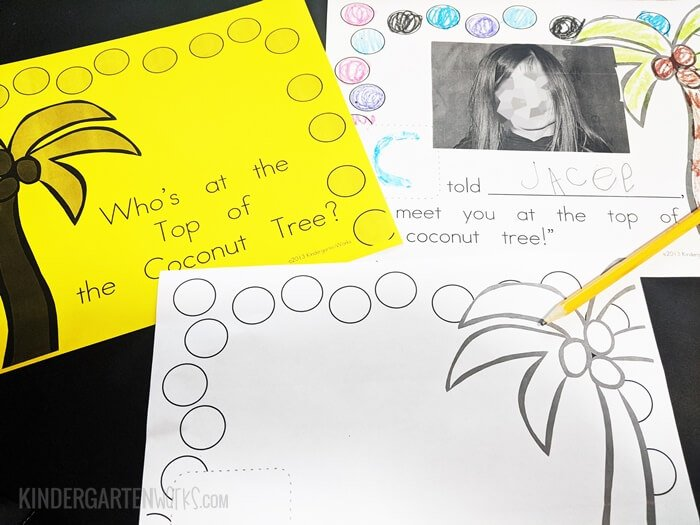How to make a class book to learn each others names in kindergarten