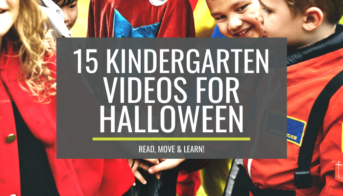 Classroom Kindergarten Videos for Halloween – Read, Move and Learn