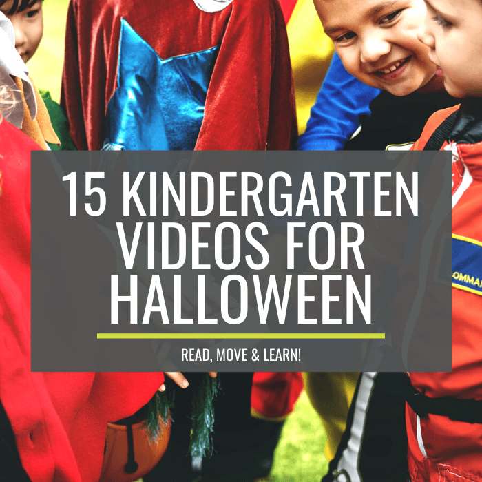 Kindergarten Videos for Halloween – Read, Move and Learn