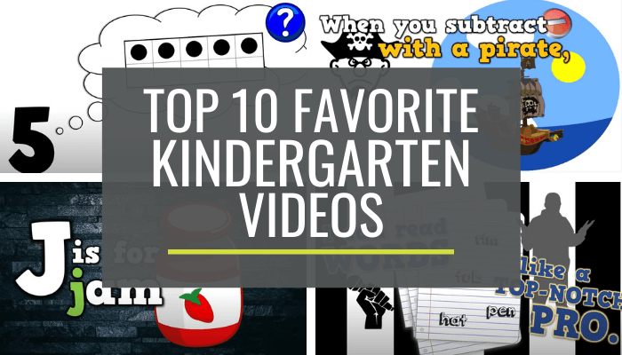 Teacher Recommended Favorite Harry Kindergarten Videos for Kindergarten
